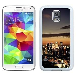 NEW Unique Custom Designed Samsung Galaxy S5 I9600 G900a G900v G900p G900t G900w Phone Case With Taiwan Taipei At Night_White Phone Case