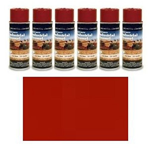 TP310SP Six (6) Cans of Ford Bright Red Spray Paint 600 700 800 900 2N 8N 9N NAA