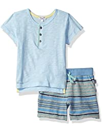 Splendid Boys' Colorblocked Tee and Short Set
