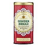 The Republic Of Tea Gingerbread Cuppa Cake Rooibos Red Tea, 36 Tea Bag Tin