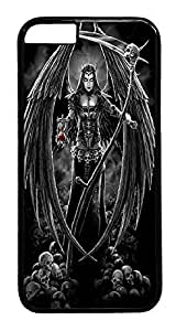 Angel Of Death iPhone 6 plus 5.5 Hard Case PC - Black, Back Cover Case for Apple iPhone 6 plus 5.5