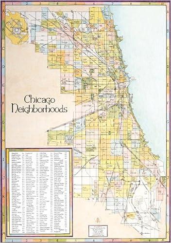 Chicago Neighborhood Map First Edition Big Stick 9781929687121