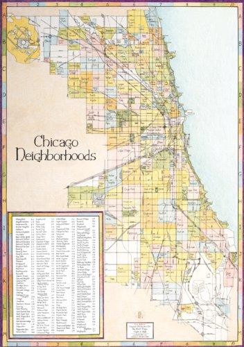Chicago Neighborhood Map, First Edition