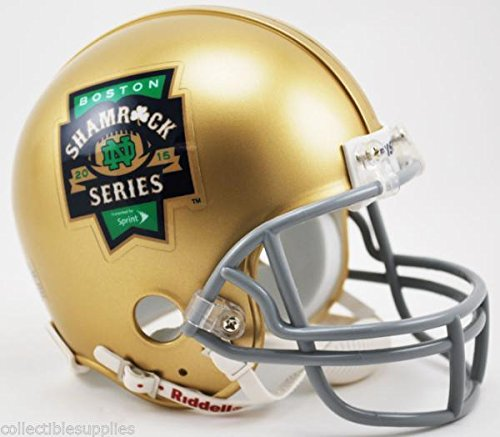 Boston Shamrock Riddell Football Helmet