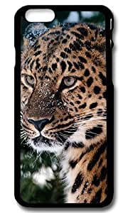 Hanifa Dirar Hadad's Shop New Style Rugged iPhone 6 Case,Powerful Leopard Custom Case Cover for Apple iPhone 6 4.7inch Polycarbonate Black 2978917M64352729
