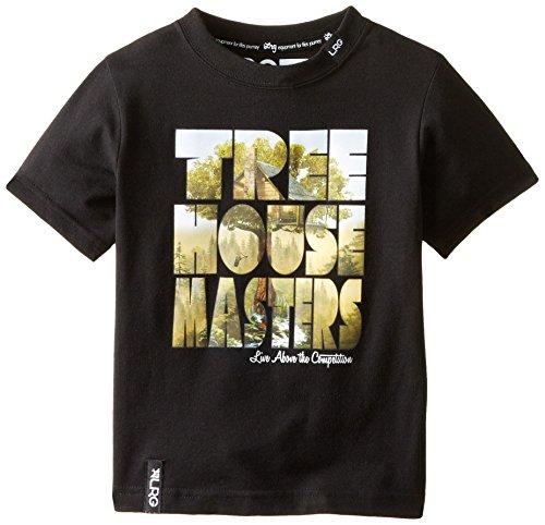 LRG Little Boys' Toddler Tree House Masters Tee, Black, 4T