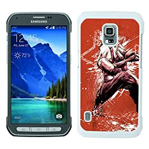 WOSN team fortress soldier graphics fan art axe White Case Cover for Samsung Galaxy S5 Active