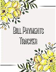 Bill Payments Tracker: Monthly Bill Payments Organizer Checklist Log Book, Debt Tracker, Bill Planner