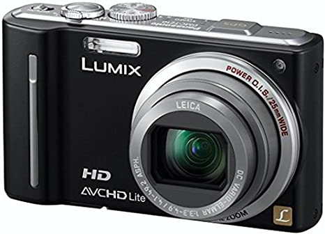 Panasonic Lumix DMC-TZ10EF-K - Cámara Digital Compacta 12.1 MP
