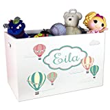 Child's Toy Box Personalized Hot Air Balloons