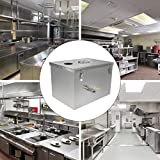 XuSha Commercial Grease Trap 4 GPM 9lbs Interceptor Stainless Steel for Restaurant Kitchen