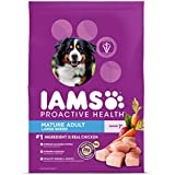 IAMS PROACTIVE HEALTH Mature Adult Large Breed Dry Dog Food Chicken, 30 lb. Bag