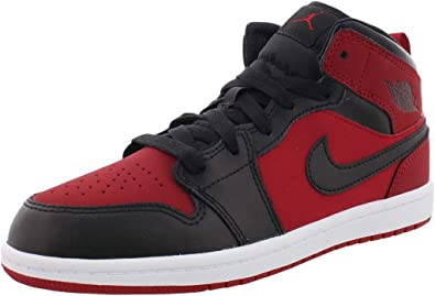 Jordan Kids Jordan 1 MID BP Gym RED
