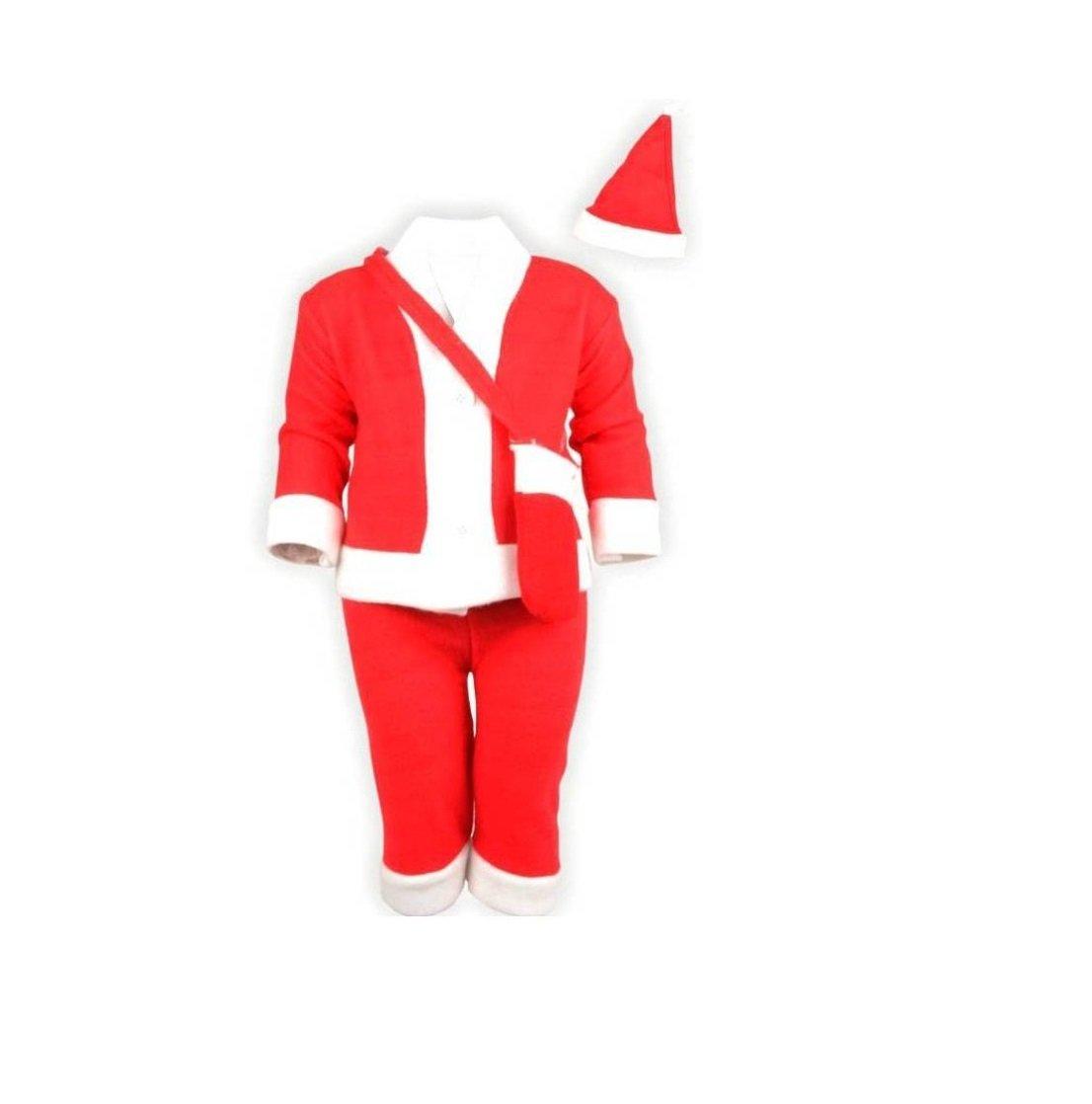 mobison santa claus costume for kids 2 3 years santa claus dress for kids for christmas amazonin toys games - Santa Claus Coat