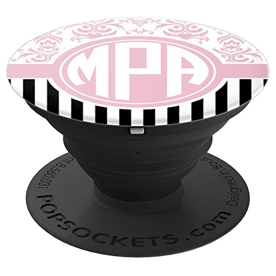 Amazon.com: MPA Monogram Pop Socket Pink Damask Initials MPA ... on map color, map tattoo, map mobile, map numbers, map code, map ornaments, map flags, map wedding, map language, map decorations, map symbols, map logos, map jewelry,