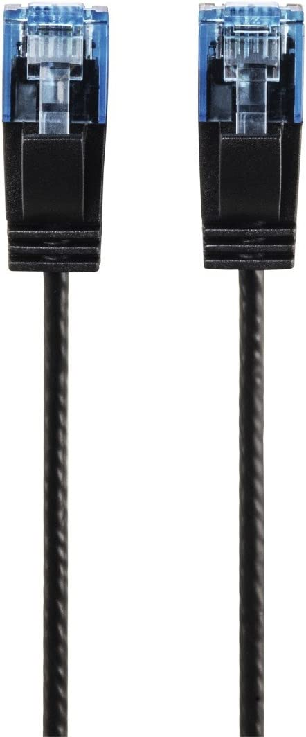 Hama CAT-6 Slim-Flexible Network Cable Black 0,75 m