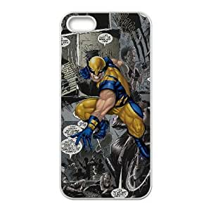 iPhone 5 5s Cell Phone Case White Wolverine Gxhq