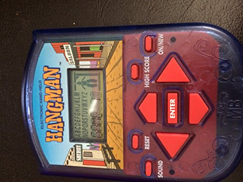 Hangman Electonic Handheld Game (1995) (Gift Card Electonic compare prices)