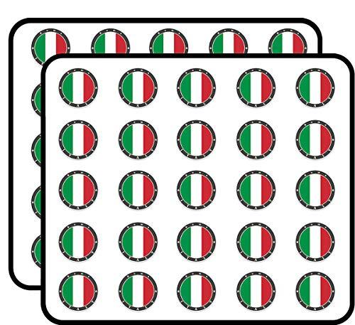 Roma Italy Sticker for Scrapbooking, Calendars, Arts, Kids DIY Crafts, Album, Bullet Journals 50 Pack ()
