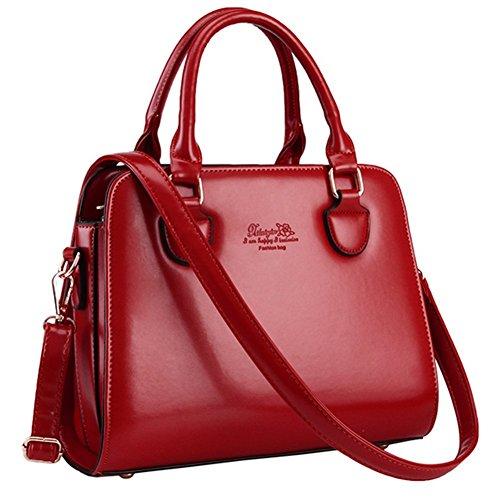 Cherrygoddy Unique Simple Handbag Pu Handbags(4)