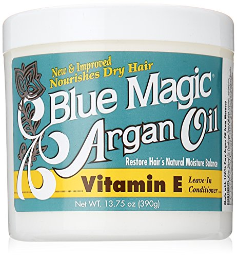 Blue Magic Argan Oil and Vitamin-E Leave-in, 13.75 Ounce