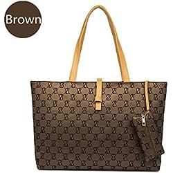 New BryanMarvel Fashion Leather Messenger Handbag Women Lady Shoulder Bag Tote Purse Ss