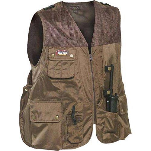 Nite Lite Outdoor Gear Men's Elite Hunters Vest,Brown,Large