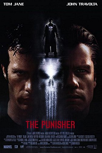 THE PUNISHER MOVIE POSTER 2 Sided ORIGINAL INTL 27x40 THOMAS JANE