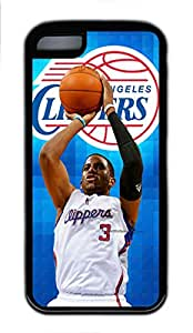 5C Case, iPhone 5C Case Cover, Customize Soft Rubber TPU Black Cases Chris Paul Shoockproof Protective Case Cover for New Apple iPhone 5C