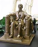 8.13 Inch Abraham Lincoln Washington DC Memorial Statue Figurine