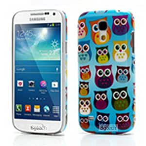 8gtech Lovely Owl Glossy Strong Hard Case for Samsung Galaxy S4 Mini i9190- Multi Owl