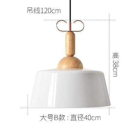 Restaurante de madera maciza, barra creativa, lámpara de ...