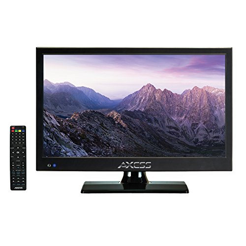 AXESS TV1705-15 15-Inch LED HDTV, Features 1xHDMI/Headphone Inputs, Digital Tuner with Full Function Remote