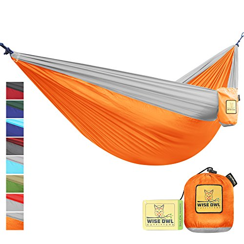 The Ultimate Single & Double Camping Hammocks- The Best Quality Camp Gear For Backpacking Camping Survival & Travel- Portable Lightweight Parachute Nylon Ropes and Carabiners Included! SOOG - Nylon Butt Pack
