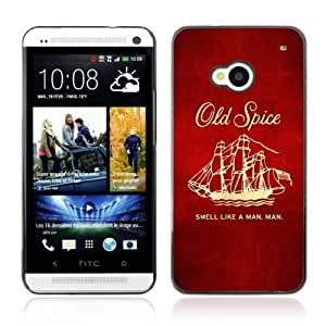 Designer Depo Hard Protection Case for HTC One M7 / Old Spice