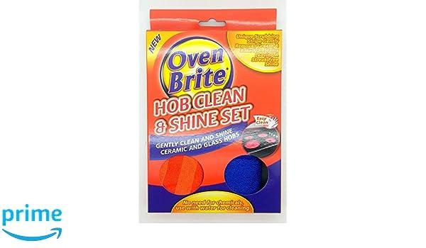 Horno Encimera Brite limpia y brilla Set Cerámica y limpiador de ...