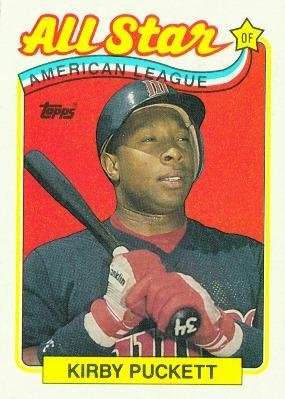 1989 Topps #403 Kirby Puckett AS - Minnesota Twins (All Star) (Baseball Cards) ()