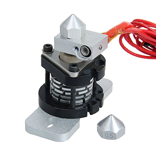 Hotend2.0 for ABS PLA filament,Prusa Mendel Hotend with multiple nozzle from Aigh Auality shop