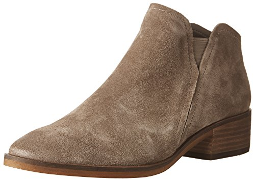 Dolce Vita Women's TAY Ankle Boot, Dark Taupe Suede, 8.5 Medium US (Dolce Vita Boots)