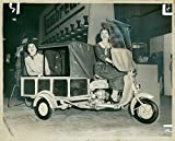 Vintage photo of Motor Scooter Carrier: Lambretta