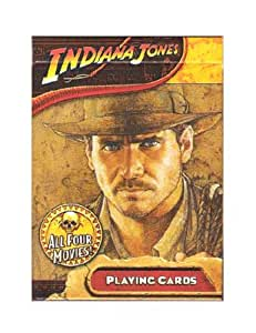 Indiana Jones Movies Saga Playing Cards