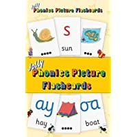 Jolly Phonics Picture Flash Cards: in Precursive Letters