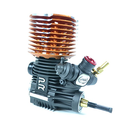 PR Racing D6-PRO 3.45cc .21 Off-Road Competition Nitro Buggy Engine (Turbo (Remote Needle Valve Engine)