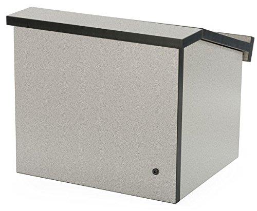 Displays2go 12.6 Inch H Tabletop Portable Podium, Folding...