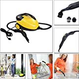 Carpet Cleaners Portable Professional Multi Purpose Pressure Steam Cleaner Carpet Bathroom 1500W steam cleaner...