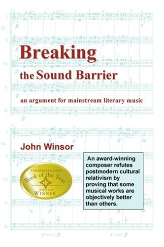 Breaking the Sound Barrier: An Argument for Mainstream Literary Music