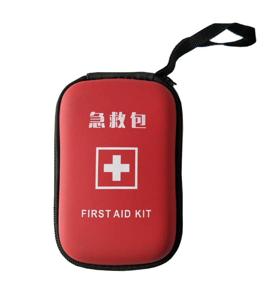 Family Outdoor Car First Aid Kit, Travel Portable Small Medical Kit