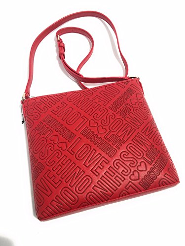 Cross Moschino Bag Love Women's Red body qEHFqRCd