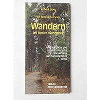 Wandern im Bezirk Wandsbek. Naturkundliche und kulturhistorische Wanderkarte Hamburg-Wandsbek