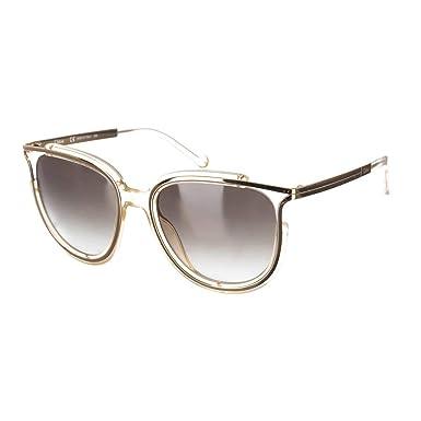 Chloe Jamie en cristal, les lunettes de soleil ronde féminine CE688 S 971  54 60 Gradient Grey  Amazon.fr  Vêtements et accessoires 37fe3567c753